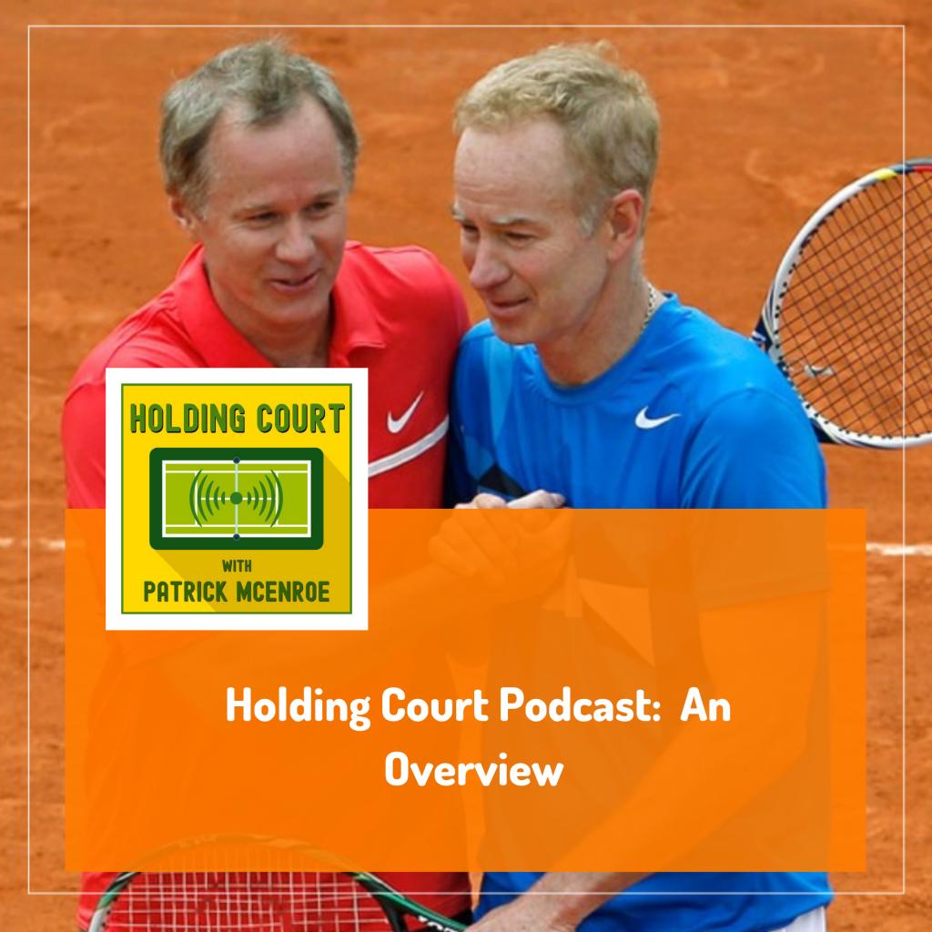 Patrick McEnroe Holding Court