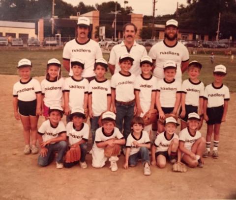 Youkilis' tee-ball team